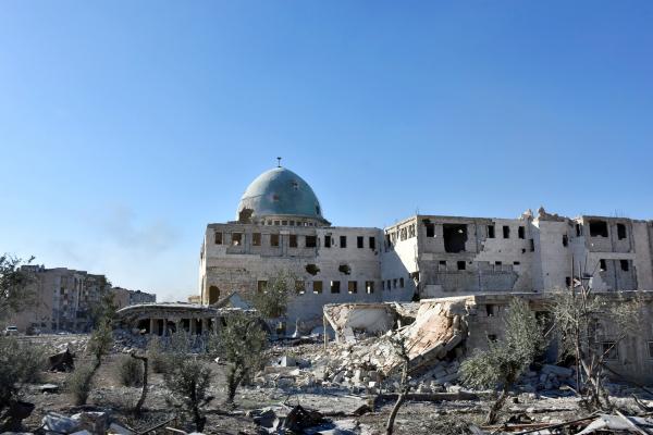Боевики ушли изгорода Телль под Дамаском