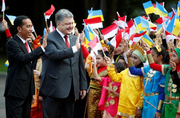 Украина иИндонезия договорились оначале переговоров повведению зоны свободной торговли