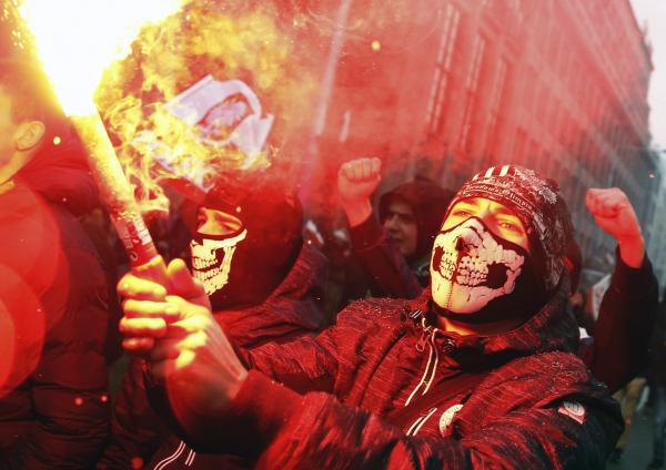 """Посол Польши назвал сожжение украинского флага в Варшаве """"пророссийской провокацией"""""""