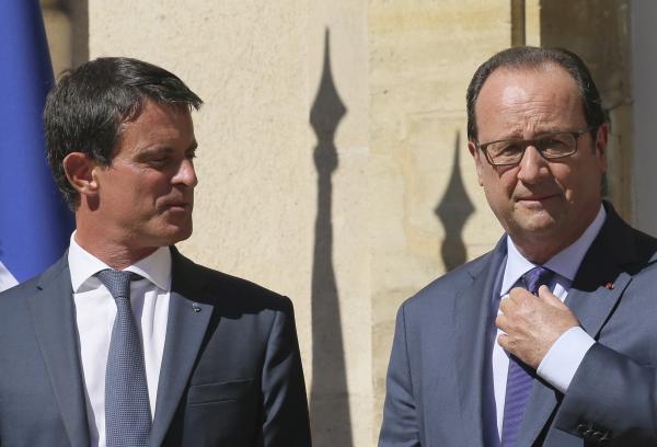 Премьер Франции назвал книгу Олланда «политическим самоубийством»
