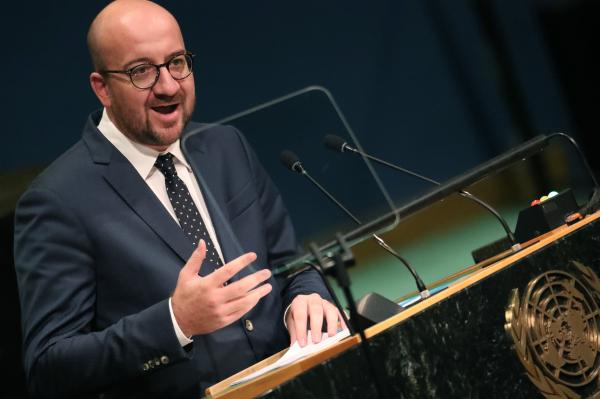 Премьер Бельгии вОрганизации Объединенных Наций (ООН) призвал закончить конфронтацию сРоссией