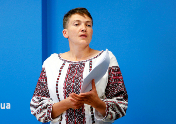 УСавченко поведали, как продвигается ееголодовка