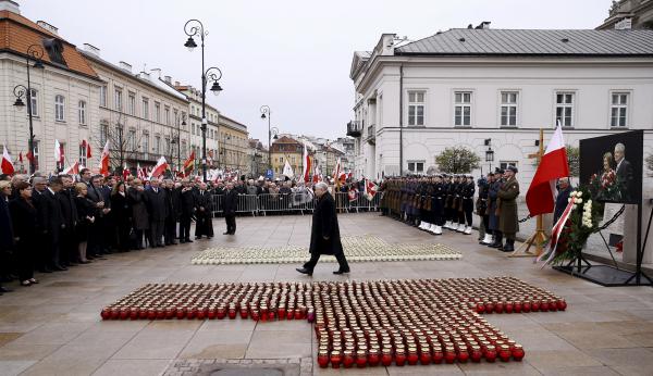 ВПольше 14ноября эксгумируют и18ноября перезахоронят супругов Качиньских