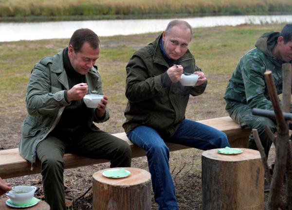 Рыболовы обратились спросьбой кПутину иМедведеву