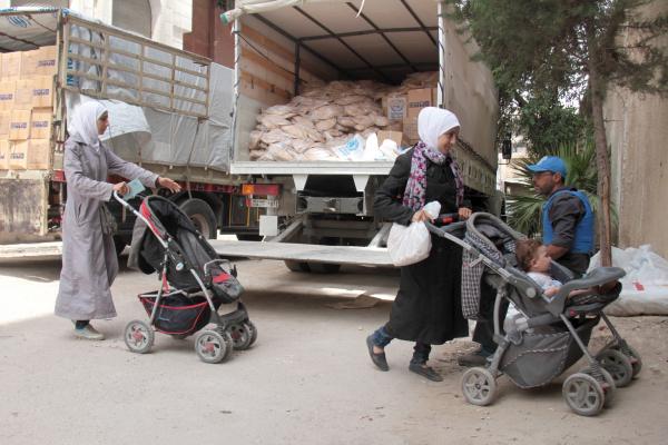 Консул Армении: вАлеппо доставлено 40 тонн гуманитарной помощи изРА