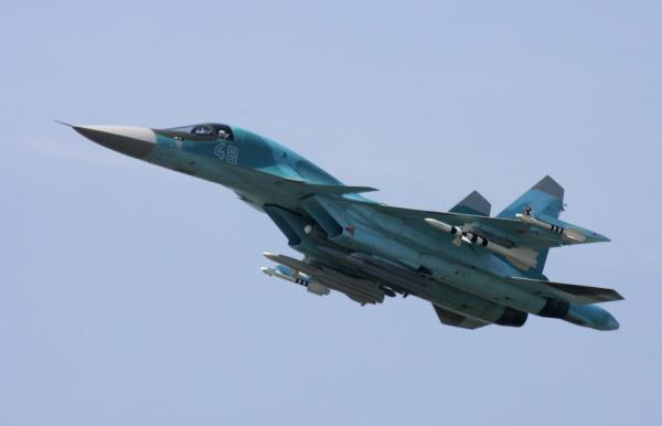 Вылетевшие изИрана русские Су-34 уничтожили 150 боевиков вСирии