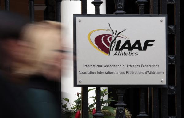 Российских легкоатлетов отстранили от соревнований на неопределенный срок