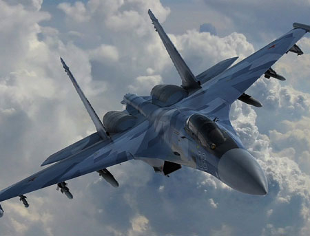 Русский Су-35 может оказаться лучшим самолетом вистории