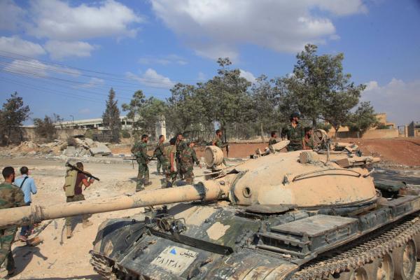 Сирийские военные подошли квосточным районам Алеппо