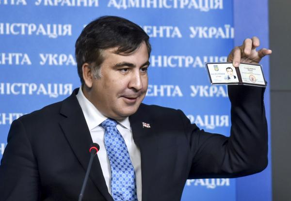 Саакашвили оштрафовали на 28$ за отказ от личного приема гражданина