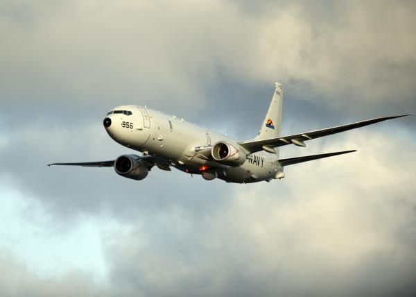 Американский военный самолет приблизился к русским рубежам уКрыма