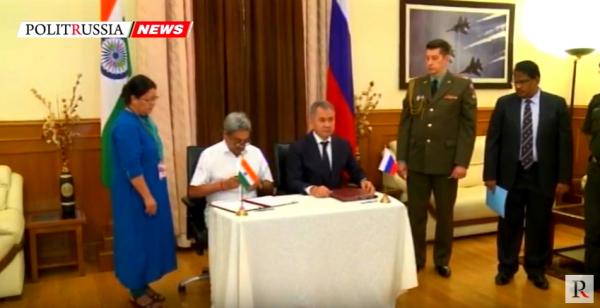 Российская Федерация иИндия расширят военное ивоенно-техническое сотрудничество— Шойгу