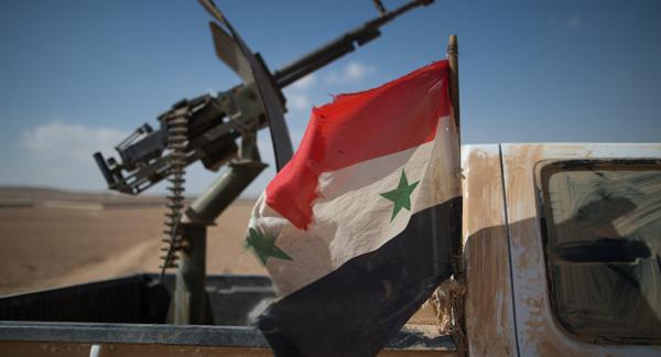 Сирийская армия освободила город Эль-Карьятейн