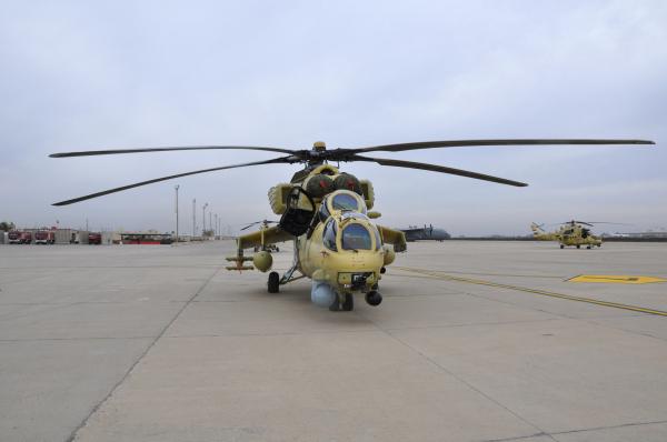 Афганистан хочет бесплатно получить русские Ми-35 для борьбы сИГ