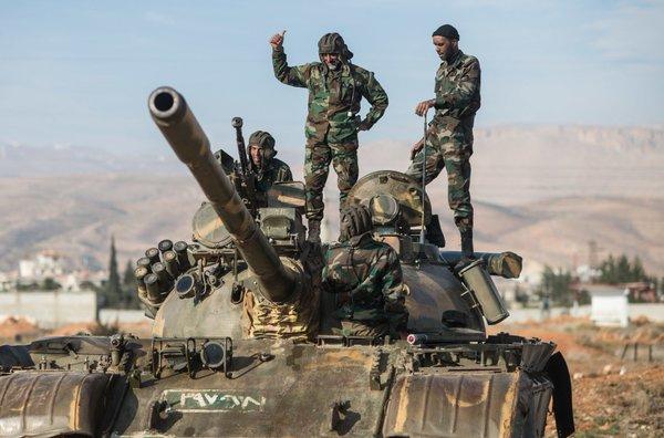 Сирийская армия вошла впровинцию Ракка— Наблюдатели