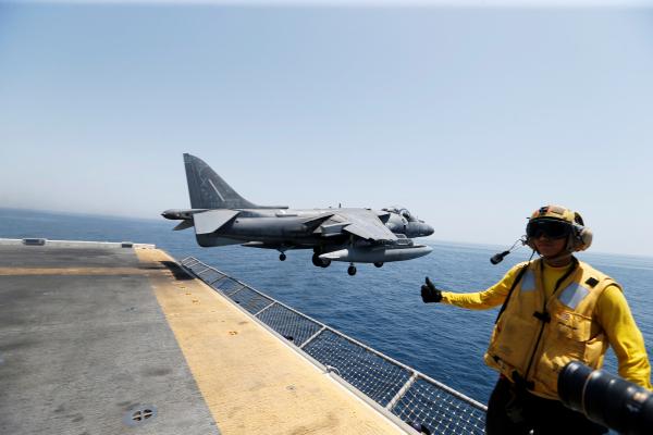 ВЯпонии рухнул американский военный самолет