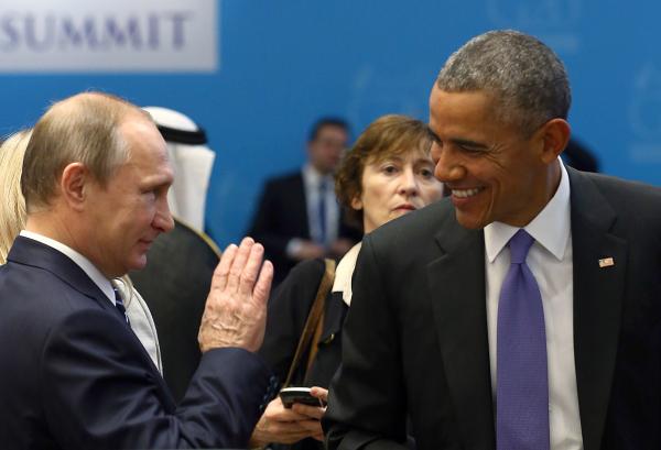 Обама может попытаться войти висторию путем примирения сПутиным— Times