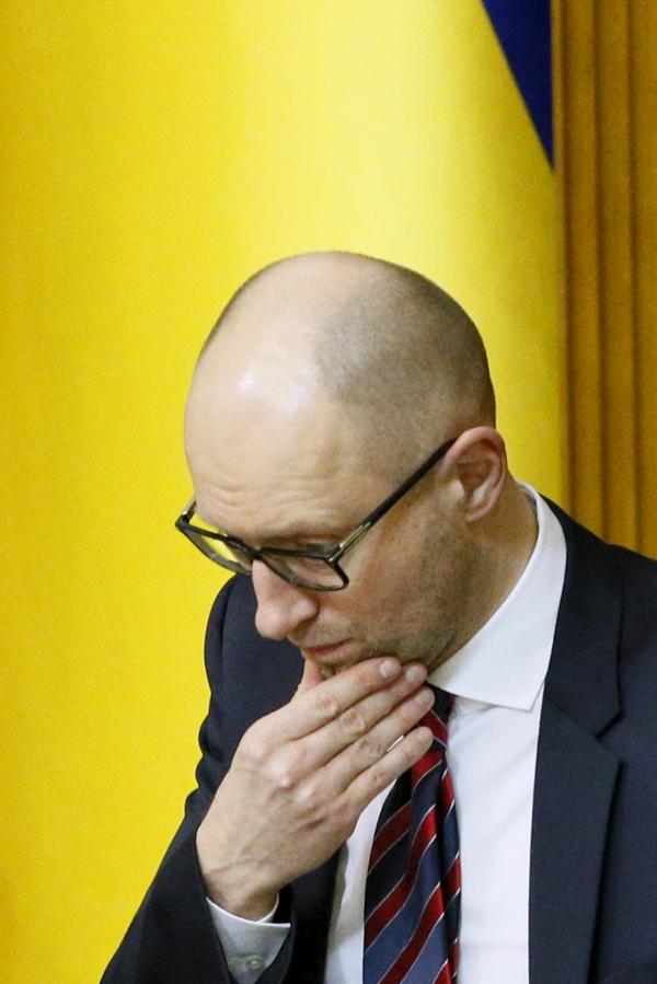 СМИ: Яценюк согласился уйти в отставку, выдвинув ряд условий