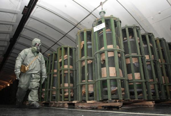 ВУдмуртии уничтожили неменее 94 процентов запасов химоружия РФ