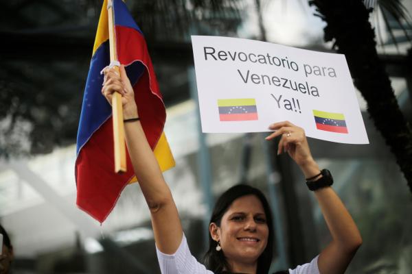 Страны Америки обеспокоены приостановкой подготовки референдума в Венесуэле