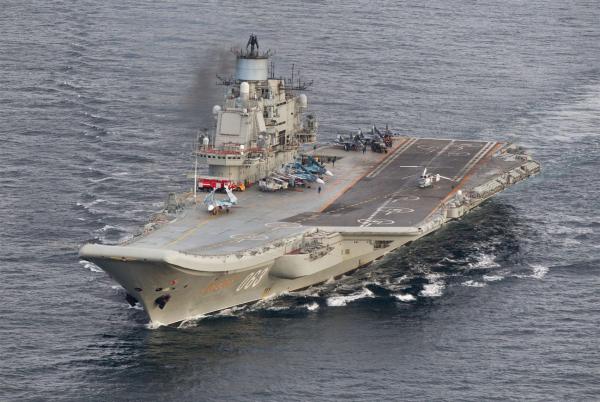 К «Адмиралу Кузнецову» присоединились три подлодки с«Калибрами»— английские СМИ