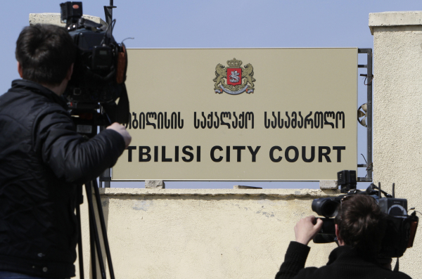 ВГрузии суд принял решение арестовать шефа одесской Нацполиции Лорткипанидзе