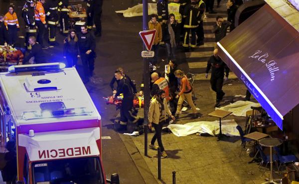 Теракты в Париже: стрельба, взрывы, захват заложников
