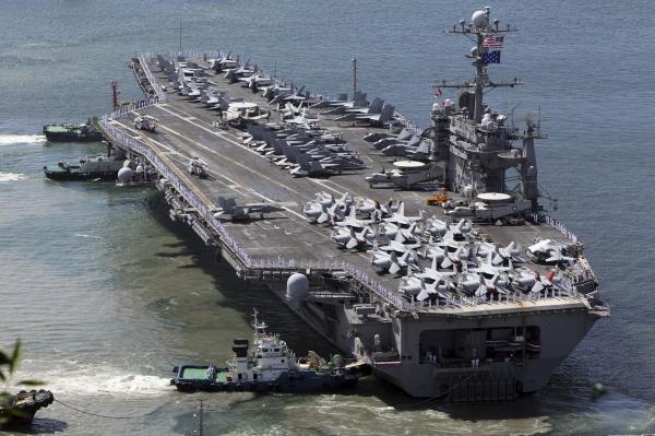 The National Interest: США могут столкнуться с нехваткой авианосцев