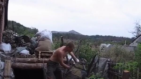 Военнослужащие ВСУ атаковали позиции ополченцев изрогатки