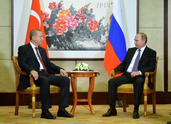 'Уже доложили- на встрече с Эрдоганом Путин пошутил про начальника разведки Турции
