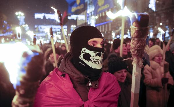 В Киеве собирают подписи против проспекта Бандеры