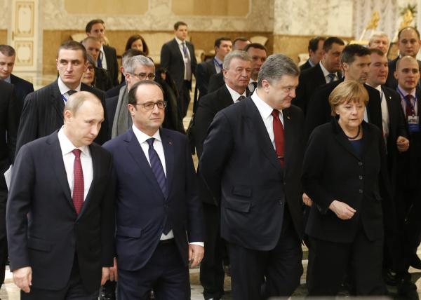 ВКремле неисключили созыва вближайшее время саммита «нормандской четверки»