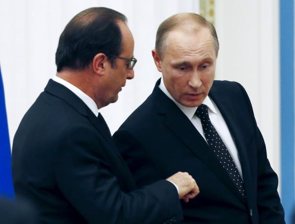 Кремль пояснил отмену визита В. Путина воФранцию поведением «хозяина дома»