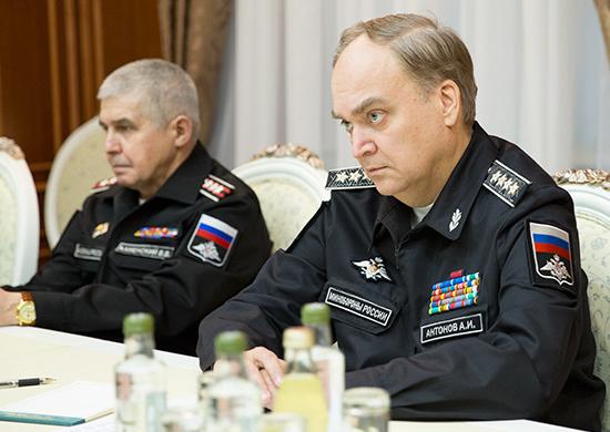 В Минобороны РФ поговорили с турецким военным атташе