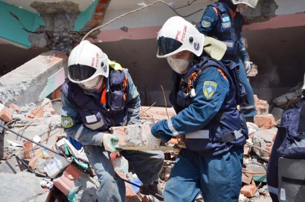 В сети появилась видеозапись взрыва жилого дома в Рязани