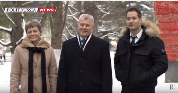 Роскосмос: НаБайконур прибыл новый экипаж МКС