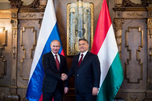 В погоне за газом: Венгрия хочет присоединиться к «Северному потоку»