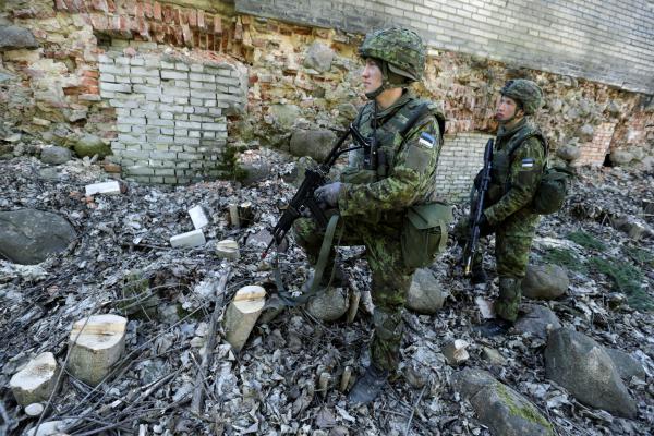 ВЭстонии навыходных пройдут несколько военных учений