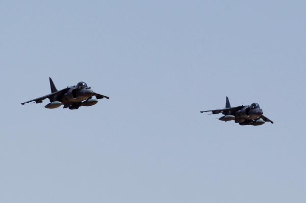 США временно остановили полеты штурмовиков Harrier после крушения наОкинаве