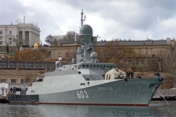 Экипажи русских кораблей начали учения вСредиземном море