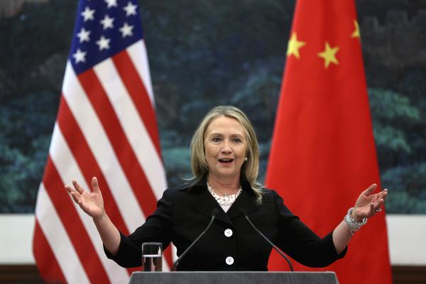 Клинтон обещала окружить КНР системой ПРО США вцелях обороны против КНДР