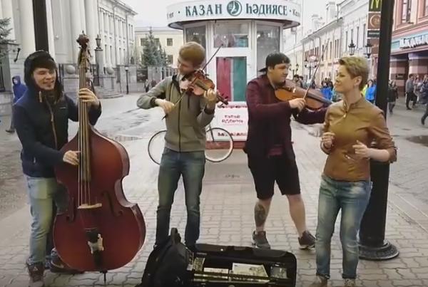 Казанская исполнительница хита про Владимира Путина попросилась солисткой в«Ленинград»