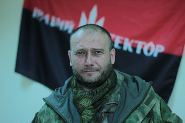 Ярош: после ареста лидера партии УКРОП «Правый сектор» чистит оружие