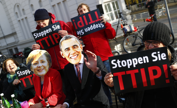 Юнкер: ЕСпродолжит переговоры сСША потрансатлантической зоне свободной торговли