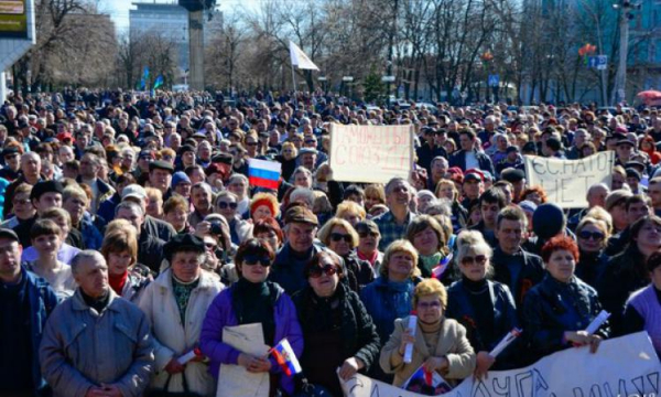 Жители ЛНР сформируют движение присоединения к РФ